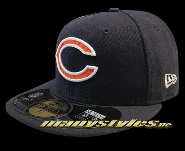 Chicago Bears 59FIFTY NFL on field Original Game Authentic von NEW ERA