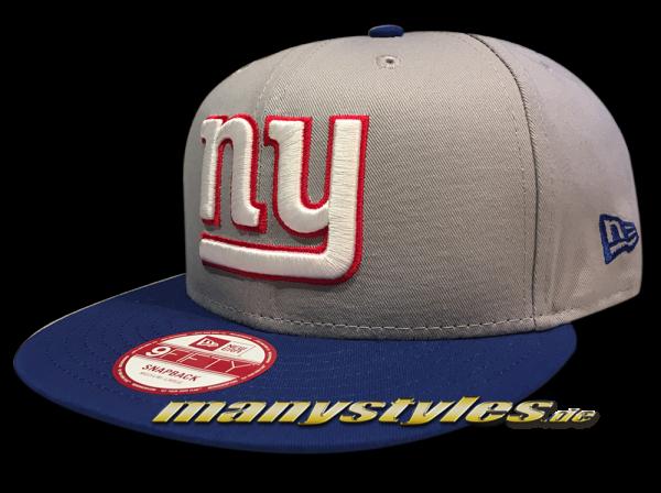 NY Giants NFL 9FIFTY TM Cotton Block Snapback Cap
