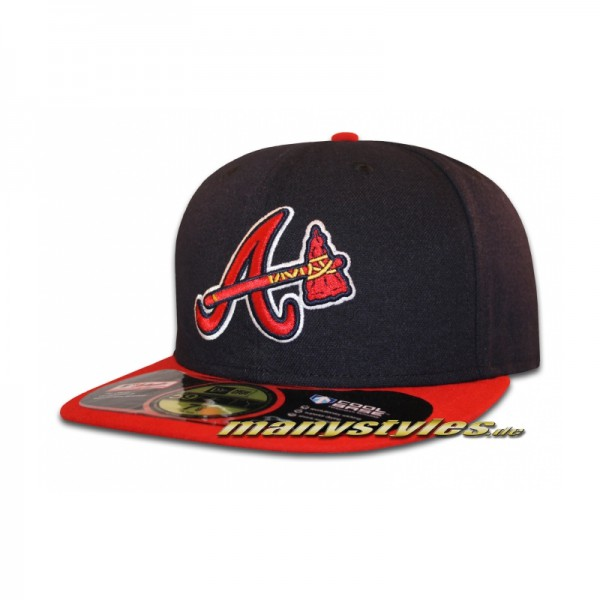 Atlanta Braves 59FIFTY MLB on field Performance Cap Alternate Authentic