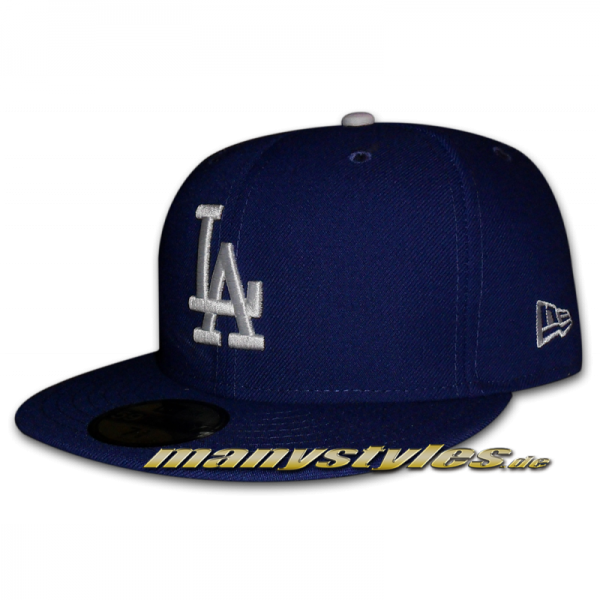 LA Dodgers MLB Authentic NE Team Structure Cap Game