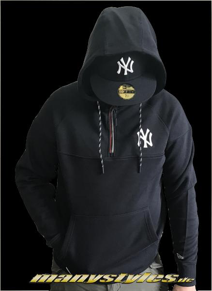NY Yankees MLB Tech Series HZ Hooded Navy White OTC Official Team Color von New Era