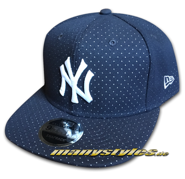 NY Yankees 9FIFTY OF Snapback Cap Color Peek Original Fit Snapback Cap Navy White OTC von New Era
