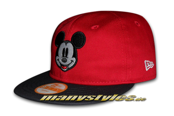 Mickey Mouse Disney 9FIFTY Basic Infant Scarlet Red Black Snapback Cap
