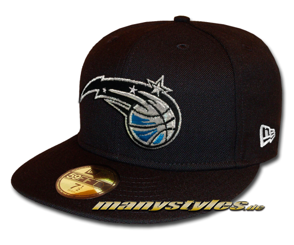 Orlando Magic 59FIFTY NBA Basic Reverse Cap Black White OTC von New Era