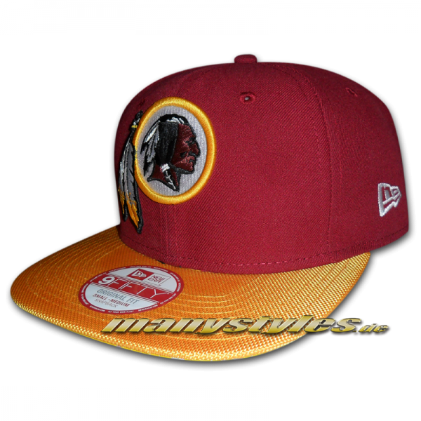 Washington Red Skins Sideline 9FIFTY Snapback Cap