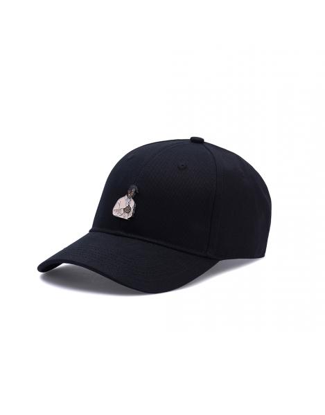 Cayler & Sons Pacenstein 2Pac Curved Visor Adjustable Cap Black White Metall Logo