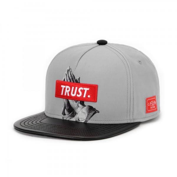 Cayler & Sons Snapback Cap Trust Grey Black