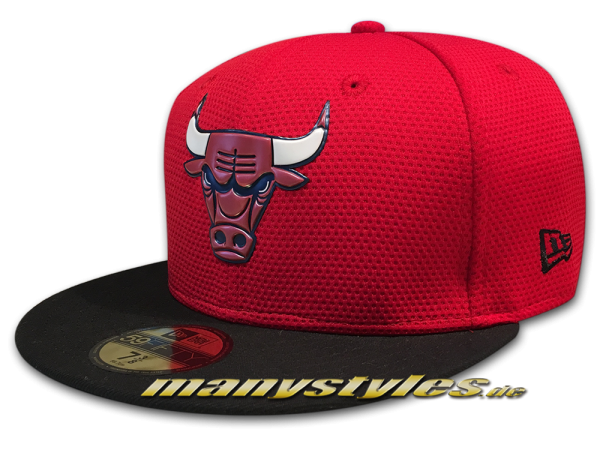 Chicago Bulls 59FIFTY NBA MB Pack Chromed Logo Cap