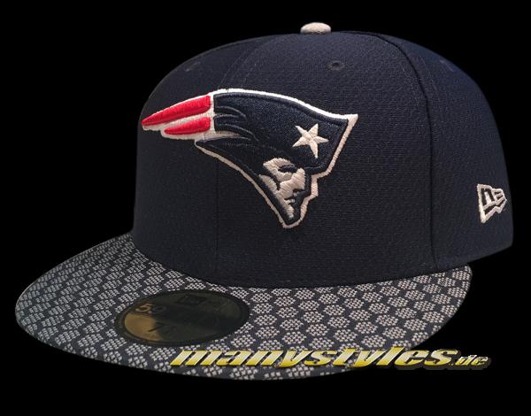 New England Patriots 59FIFTY NFL Sideline 2017 On Field Cap new era