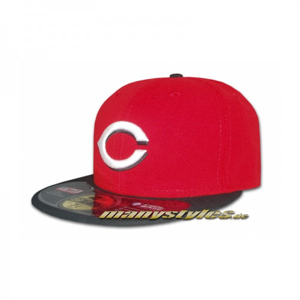 Cincinatti Reds 59FIFTY MLB on field performance Cap Authentic Home