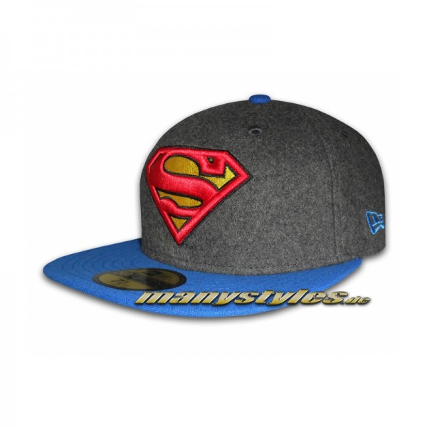 Comic Art DC 59FIFTY Superman Hero Melton Cap Official Team