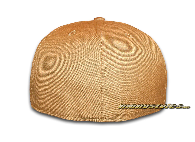 Blank New Era Cap - Clean Plain Caps without Logo - Camel 59FIFTY ... 47e566ed468