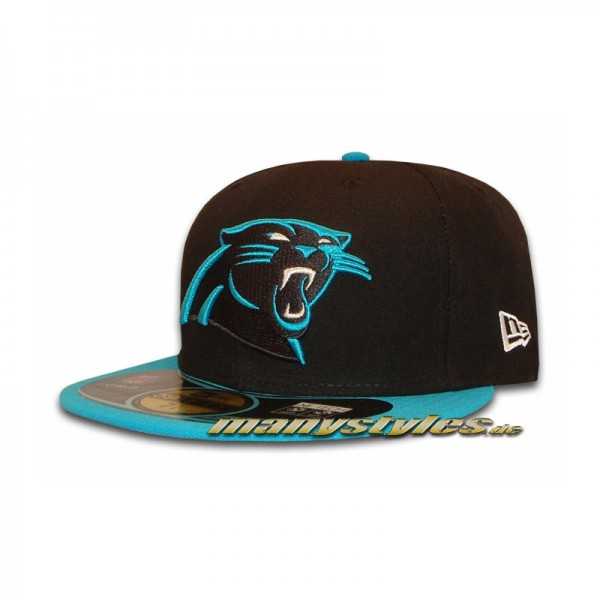 Carolina Panthers official NFL on field Cap Game 59FIFTY
