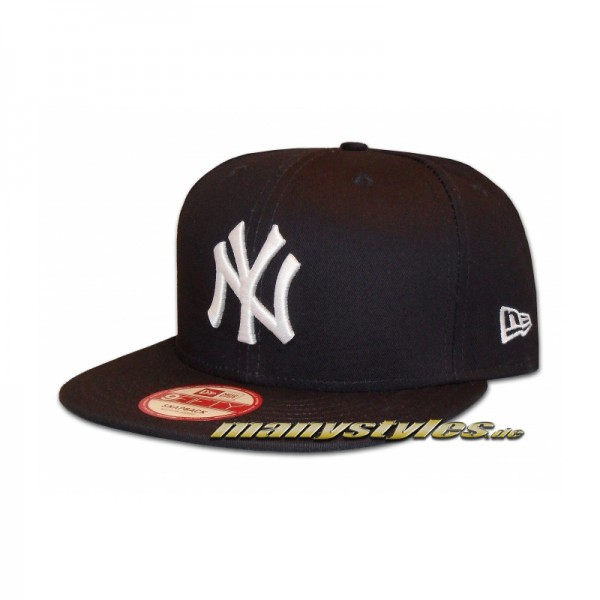 NY Yankees 9FIFTY MLB Authentic Cotton Block Team Snapback Cap