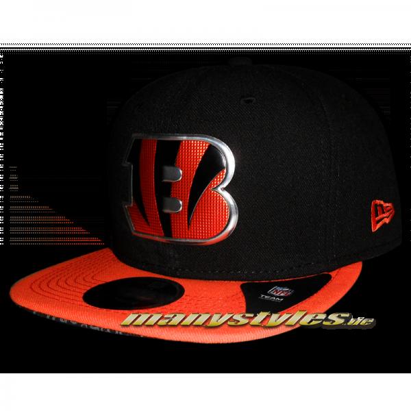 Cincinatti Bengals 9FIFTY NFL 9FIFTY Snapback Cap Liquid Logo