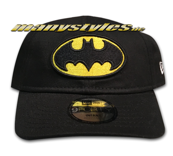 My 1st 9FORTY Batman DC Comics Basic Infant Cap Black Yellow OTC von New Era