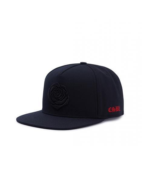 Cayler & Sons CSBL Order Snapback Cap Black on Black Rose