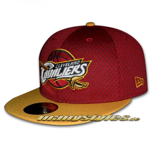 Cleveland Cavaliers 59FIFTY NBA Sports Mesh Cap
