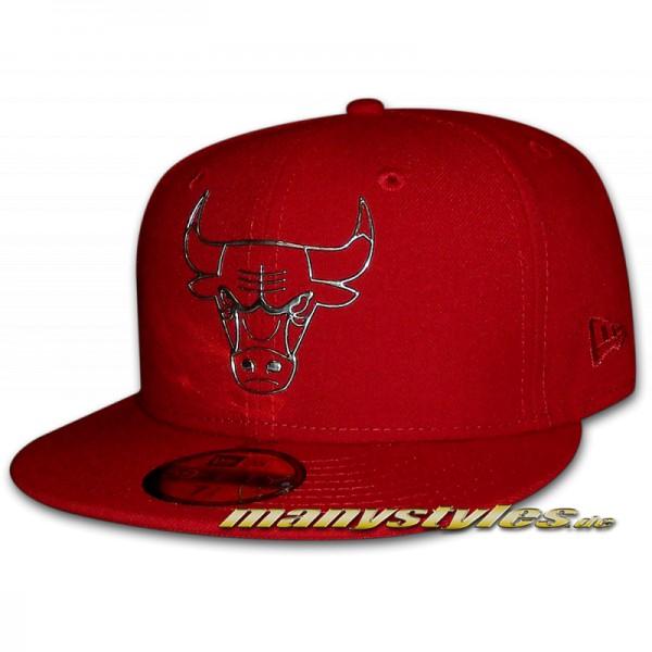 Chicago Bulls 59FIFTY NBA NE Remix Liquid Cap