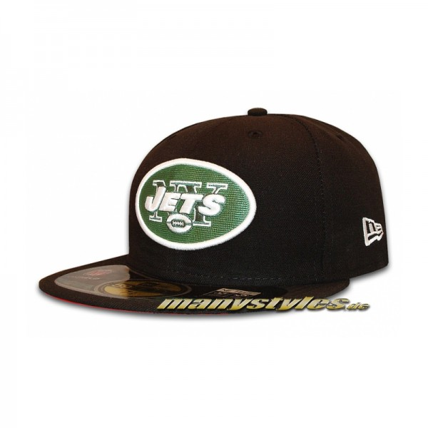 NY Jets New York Jets 59FIFTY NFL on field Cap Black Team