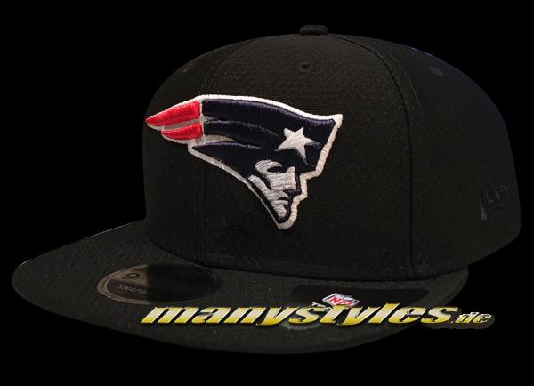 New England Patriots 9FIFTY NFL Diamond Era DryEra Tech 950 Snapback Cap Black Original Team Color OTC von New Era
