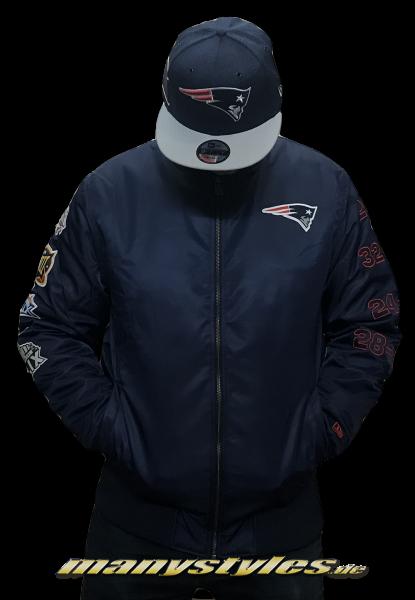 New England Patriots Zip SB50 Bomberjacket