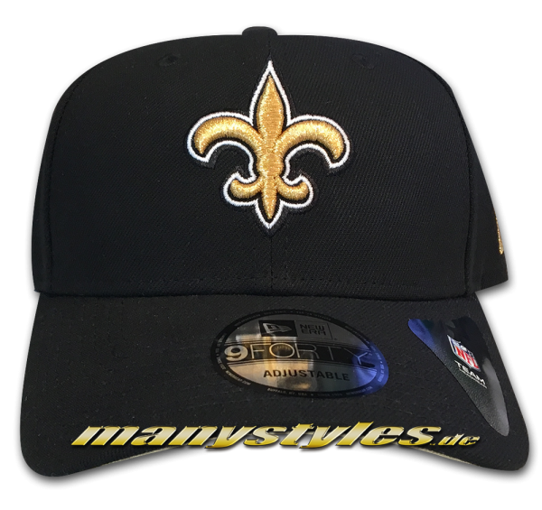 New Orleans Saints 9FORTY NFL The League Curved Visor Adjustable Cap Original Team Color OTC von New Era