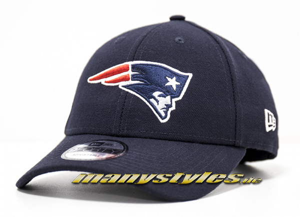New England Patriots NFL Vll Superbowl Patch 9Forty Cuved Visor Cap Black von New era