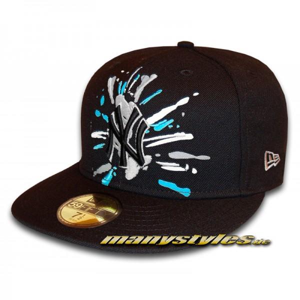 NY Yankees 59FIFTY MLB GW Spifty Cap Black Blue