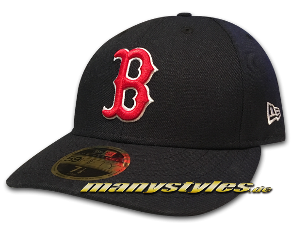 BOSTON RED SOX MLB Low Profile Low Crown Performance Team Color Cap Game von NEW ERA