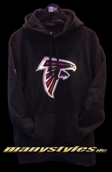 Atlanta Falcons NFL Team Logo PO Hood Hooded Black Team Color von New Era