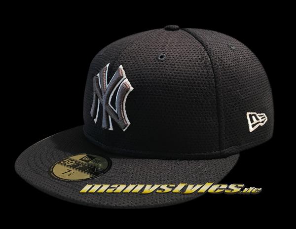 NY Yankees MLB 59FIFTY Tone Tech Redux 5950 von New Era Navy Grey White