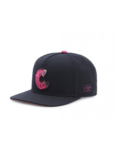 Cayler & Sons Munchos Black Pink Snapback Cap The Munchies