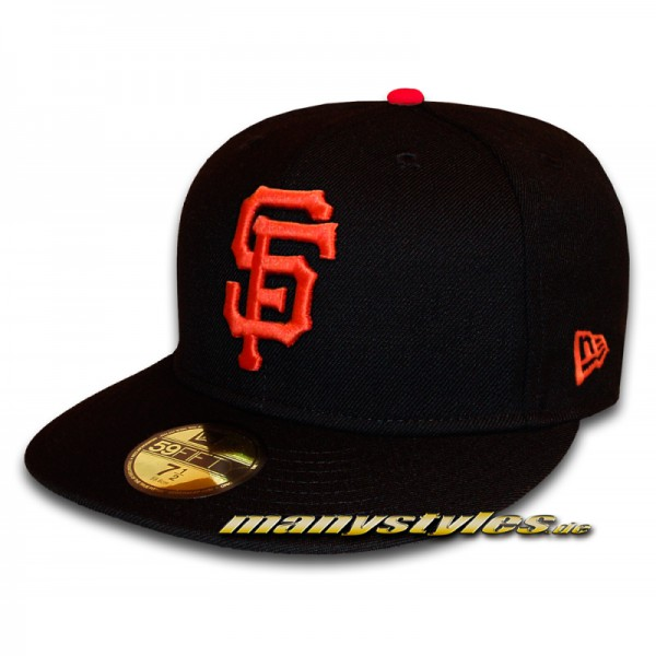 San Francisco Giants 59FIFTY MLB Authentic NE Team Structure Cap Game