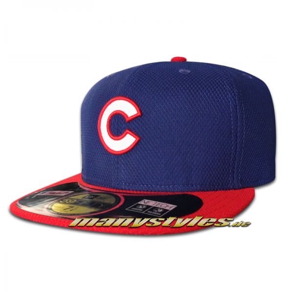 Chicago CUBS MLB Performance Authentic on field Diamond Era Cap