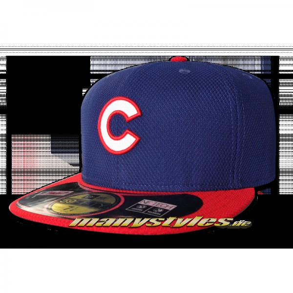 Chicago CUBS MLB Performance Authentic on field Diamond Era Cap