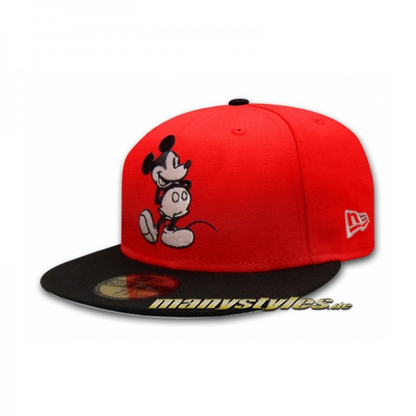 Disney Comic 59FIFTY Art Mickey Mouse 2 Basic exclusive Cap Scarlet Red Black