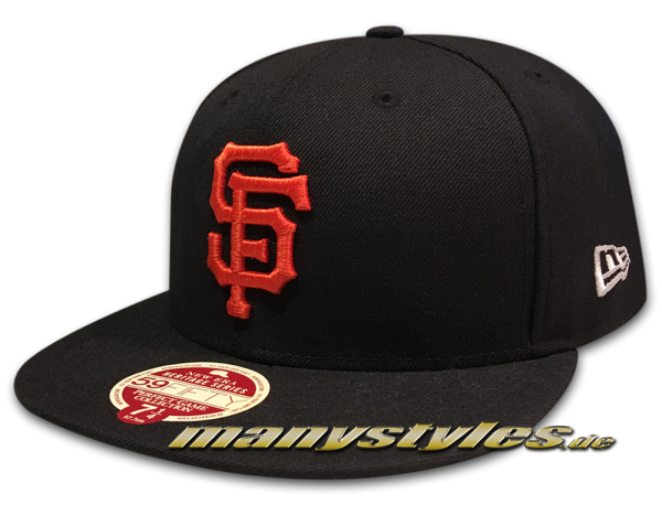 San Francisco Giants 59FIFTY MLB Authentic on field Cap Perfect Game Wool von New Era