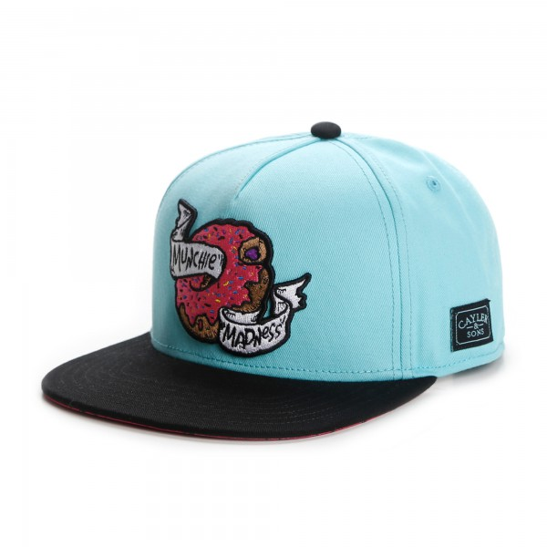 Cayler & Sons Snapback Cap Donut Munchie Madness Mint