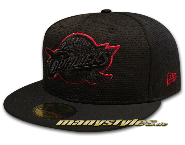 Cleveland Cavaliers 59FIFTY NBA Cap Diamond Prene Black Scarlet Red von New Era