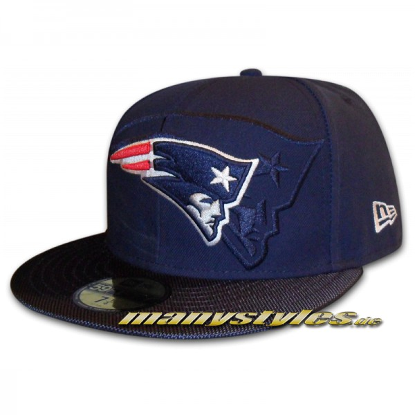 New England Patriots official 59FIFTY NFL on field Sideline 2016 Cap