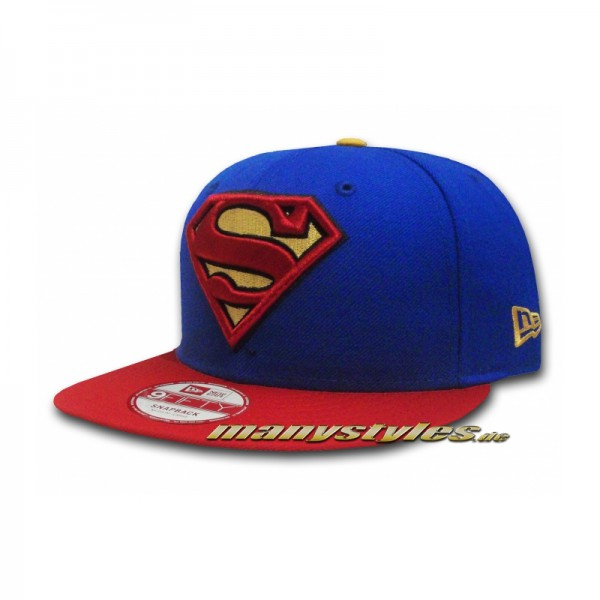 DC Comic Art Superman Basic Team Snapback Cap exclusive