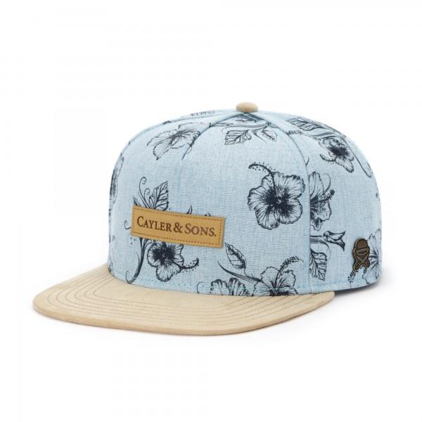 Cayler & Sons Vibin Blue Snapback Cap