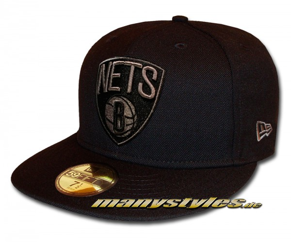 Brooklyn Nets NBA 59fifty New Era Cap Tonal