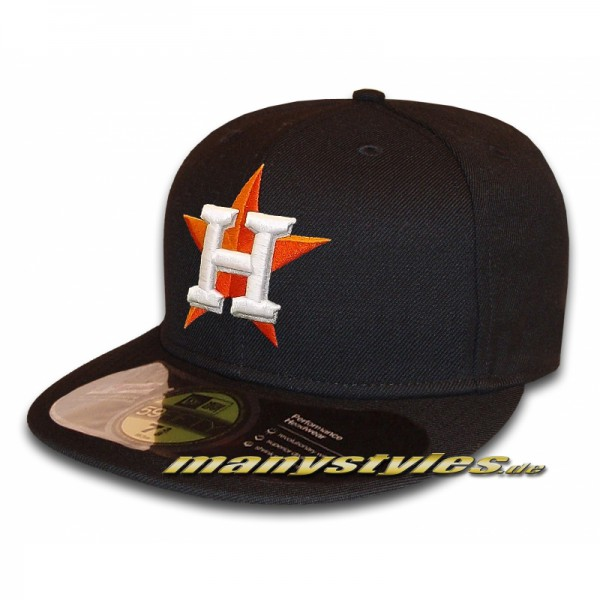 Houston Astros 59FIFTY MLB on field Performance Authentic Cap Navy new Home
