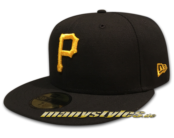Pittsburgh Pirates 59FIFTY MLB Authentic NE Team Structure frontside von New Era