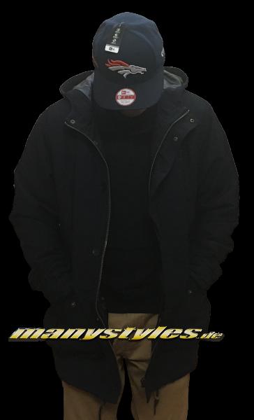 Mahagony Parka Jacket Dark Navy