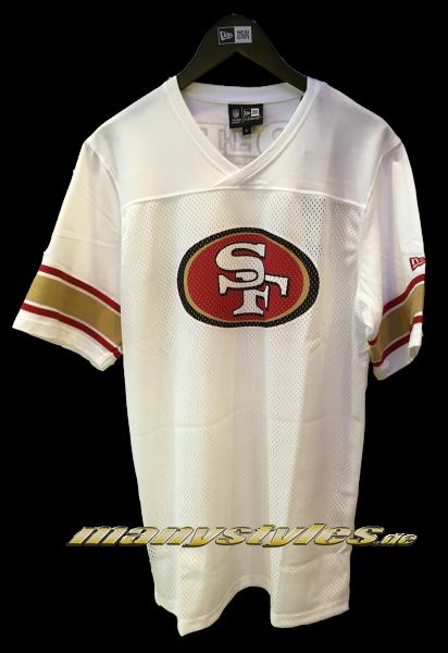 San Francisco 49ers NFL Team Jersey White OTC Original Team Color von New Era