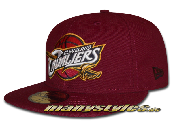 Cleveland Cavaliers 59FIFTY NBA Team Classic Basic Cap