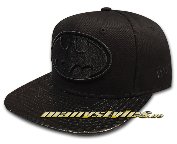 Batman DC Comic 9FIFTY OF Original Fit Snapback Cap Mens Visor Shine in Black on Black von New Era